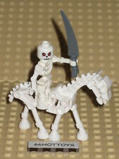 Lego Lego Castle Skeleton Warrior & Skeletal Horse Minifigure New
