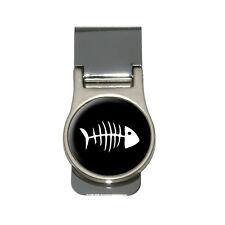 Fish Bones Money Clip