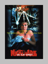 """NIGHTMARE ON ELM STREET PP SIGNED 12""""X8"""" POSTER CRAVEN"""