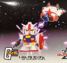 Gundam SD RX-78 0079 MAGNET ROBO by Banpresto w/ Core Booster RARE!  NEW SEALED