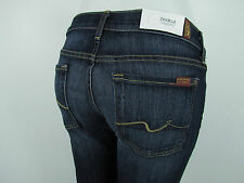 Seven 7 For All Mankind ORIGINAL BOOTCUT Jean Woman 30 IN NOUVEAU NEW YORK DARK