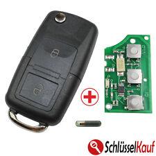 VW Skoda Seat Klapp Schlüssel 1J0959753CT Fernbedienung 434 MHz Bora Golf Passat