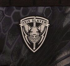 ISIS Slayer Pig Head PVC Morale Patch