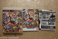 Gundam Extreme Vs. Full Boost PS3 Sony Playstation3 Japan