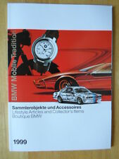 BMW Boutique orig 1999 prestige brochure - Models Books Prints Collectables etc