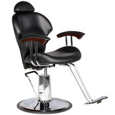 Barber Salon Multi-Purpose Reclining Hydraulic Hair Styling Chair MP-30BLK