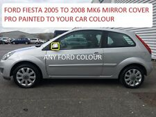 FORD FIESTA 05-08 WING MIRROR COVER LEFT SIDE SIDE PAINTED ANY FORD COLOUR