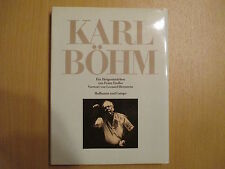 Karl Böhm , ein Dirigentenleben von Franz Endler 1981