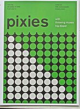 The Pixies  Mini-Poster Concert Reprint   Framable Optical Artwork 13 x10