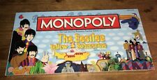 MONOPOLY THE BEATLES YELLOW SUBMARINE FACTORY SEALED