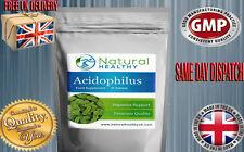 Acidophilus Lactobacillus Probiotics, Digestive Health - Bacteria 500m CFU