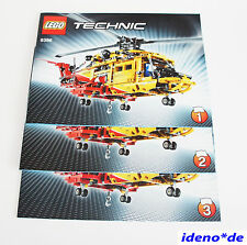 LEGO BUILDING INSTRUCTION Technik 9396 Bigger Helicopter New No PARTS