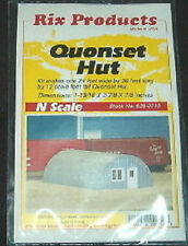 Quonset hut kit N scale Rix products