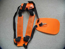 BRUSHCUTTER STRIMMER PADDED DOUBLE HARNESS STRAPS SUIT STIHL RYOBI HUSQVARNA