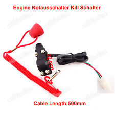 Engine Notausschalter Kill Schalter Push Button für Pocket Bike Mini Dirt ATV
