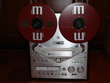 SILVER AKAI GX 646 REEL TO REEL TAPE RECORDER RECAPPED AND FULLY SERVICED L@@K