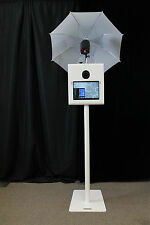 """PORTABLE PHOTO BOOTH - SHELL ONLY - """" X-1 Version 2"""" with tilting camera"""