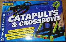 Catapults and Crossbows Physics Science Experiment Kit Thames & Kosmos