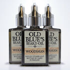 Old Blues Beard Oil Woodsman 100% Natural with Vitamin E 30ml