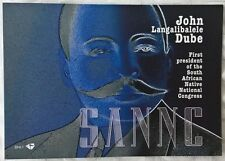 South Africa Stamps, Mint miniature sheet in booklet, John Langalibalele Dube