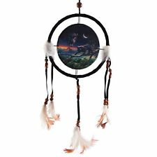 Black Panther Dream Catcher Canvas Print Feather Ideal Nature Gift