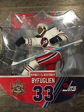 "NHL Winnipeg Jets Heritage Classic 6""  figure Dustin Byfuglien #33  limited 1000"