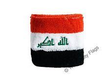 WRISTBAND Iraq Flag SWEATBAND 7x8cm
