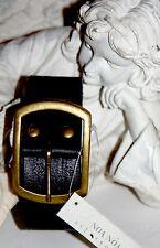 Noa Noa  Leder - Gürtel  Philly  Nature Nostalgie Belt Black Size: M Neu