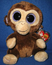 TY BEANIE BOOS BOO'S - COCONUT the MONKEY - MINT with MINT TAGS - RED TAG