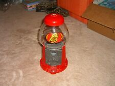 jelly belly mini bean machine-collectable red w/glass dome & logo