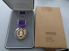 US Purple Heart Original im Etui und Schachtel PFC Gravur !! 1. Golfkrieg