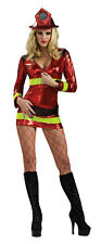 Secret Wishes Women's Fearless Firefighter Sexy Adult Costume Small