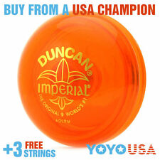 [SPRING SALE] Duncan Imperial Yo-Yo - Orange + STRINGS
