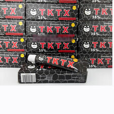TKTX Black 35% More Numbing Cream Piercing Permanent Eyebrow Embroidered Tattoo