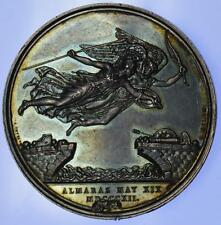 Napoleonic wars - 1812 Battle of Almaraz silver medal by Mills for Mudie