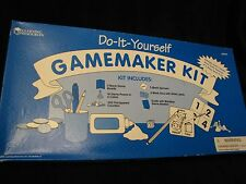 BOARDGAME MAKING KIT!  4 BLANK GAMEBOARDS, SPINNERS, TOKENS CRAFT SUPPLIES