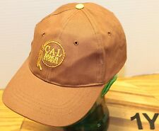 VERY NICE CAL RANCH STORES DARK BROWN ADJUSTABLE HAT IN VERY GOOD CONDITION