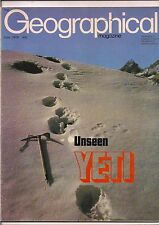 the geographical magazine-JUNE 1979-UNSEEN YETI.