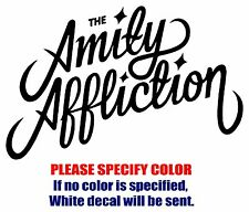 The Amity Affliction Band Rock Vinyl Decal Car Sticker Window bumper Laptop 7""