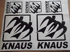 5 X  KNAUS DECALS STICKER SET