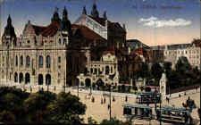 1916 Feldpostkarte Coeln Köln Tram Straßenbahn Opernhaus Feldpost Stempel CÖLN