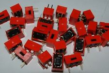 25 2 way dip switches Multicomp 607502 dil MCDS02