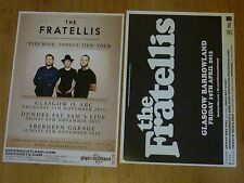 The Fratellis - Scottish tour concert gig posters x 2