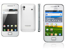 SAMSUNG Galaxy Ace gt-s5830i - Bianco (Sbloccato) Smartphone Android Telefono UK