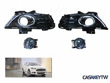 1Set Front Fog light Lamp & Cover Kit OEM New For 13-15 Ford Fusion Mondeo FFM