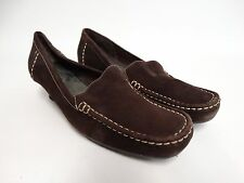 Pre-Owned Aerosoles Womens Shoes Brown Suede Leather Size 10 B