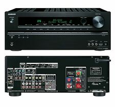 Onkyo TXNR509 HD 3D AV Receiver TX-NR509 iPhone iPod USB Playback HDMI Black