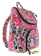 """NWT VERA BRADLEY """"CHEERY BLOSSOMS"""" DOUBLE ZIP BACKPACK"""