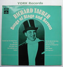 RICHARD TAUBER - Songs Of Stage & Screen - Ex Con LP Record Parlophone PMC 7163