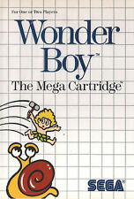 ## SEGA Master System - Wonder Boy 1 - TOP / MS Spiel ##